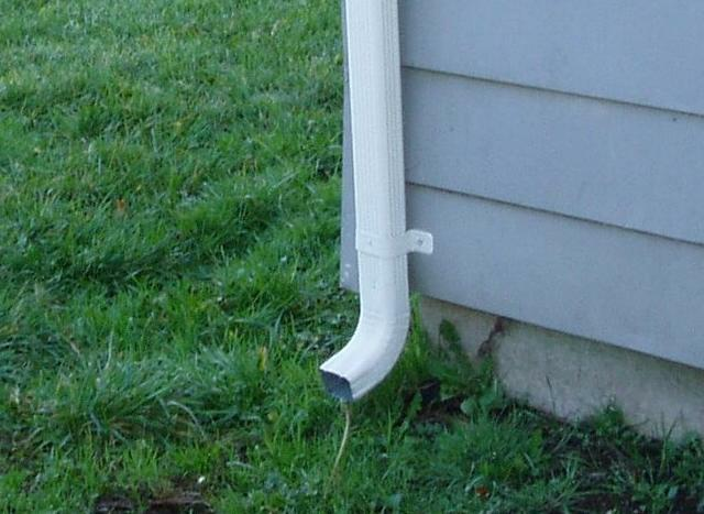 Bellingham Home Inspector King Of The House Downspout