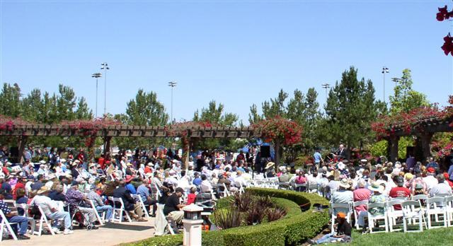 Irvine's Memorial Day celebration 2011