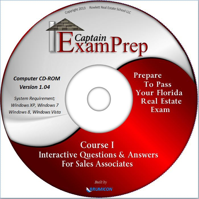 New Florida State Exam Prep CD-ROM Interactive Question and
