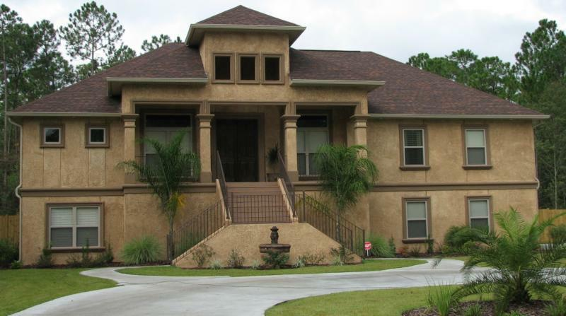 New construction interiors and exteriors in brunswick for Southern custom homes