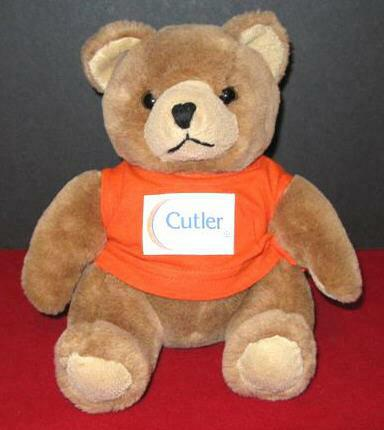 Coffy the Cutler teddy bear Jim Dvorovy Canton Ohio real estate