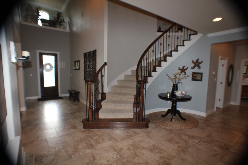 Steiner Ranch Austin TX Home for Sale stairway