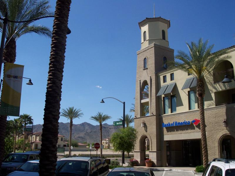 Bank of America on Main Street in Verrado Buckeye Arizona