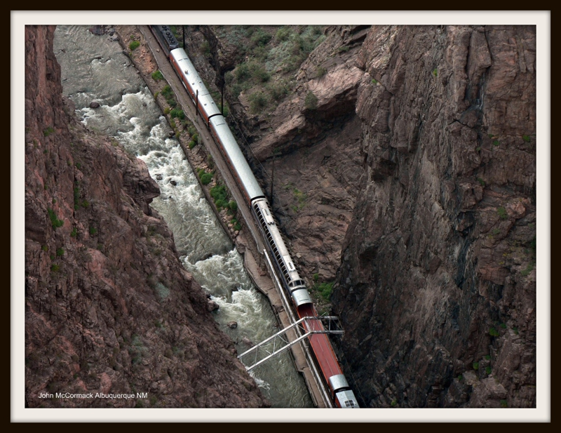 Train Ride At Royal Gorge