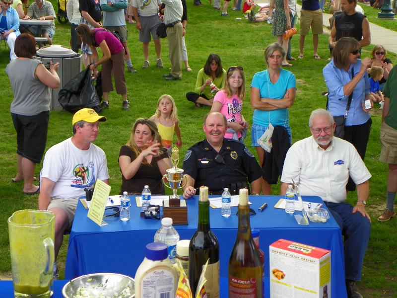 Judges at the Sandpoint Summer Sampler