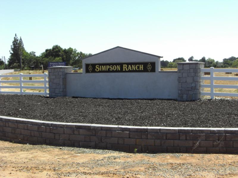 Land For Sale Simpson Ranch Estates Wilton Sacramento
