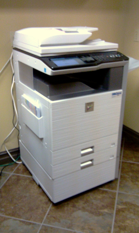 office printer by Bob Haywood