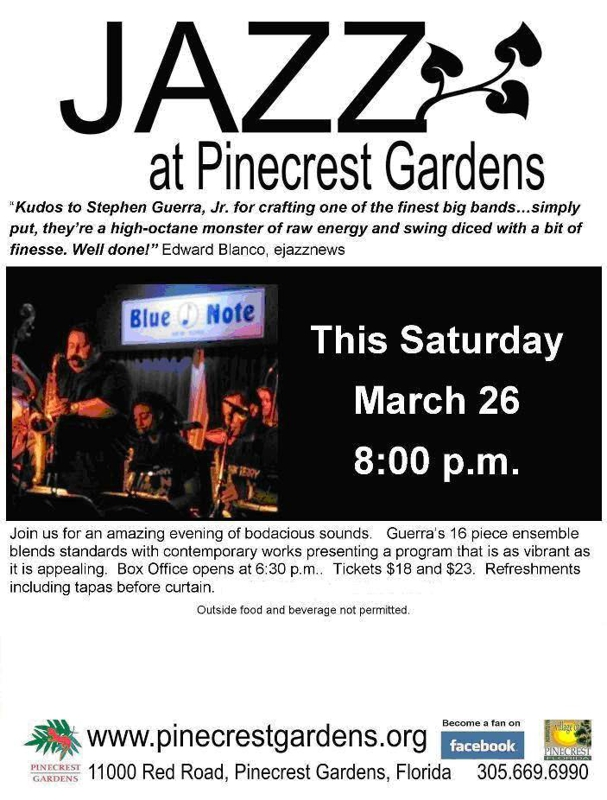 Jazz at Pinecrest Gardens
