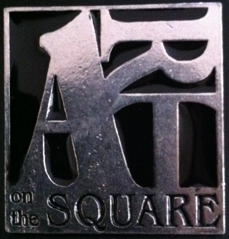 Art on the Square Pin