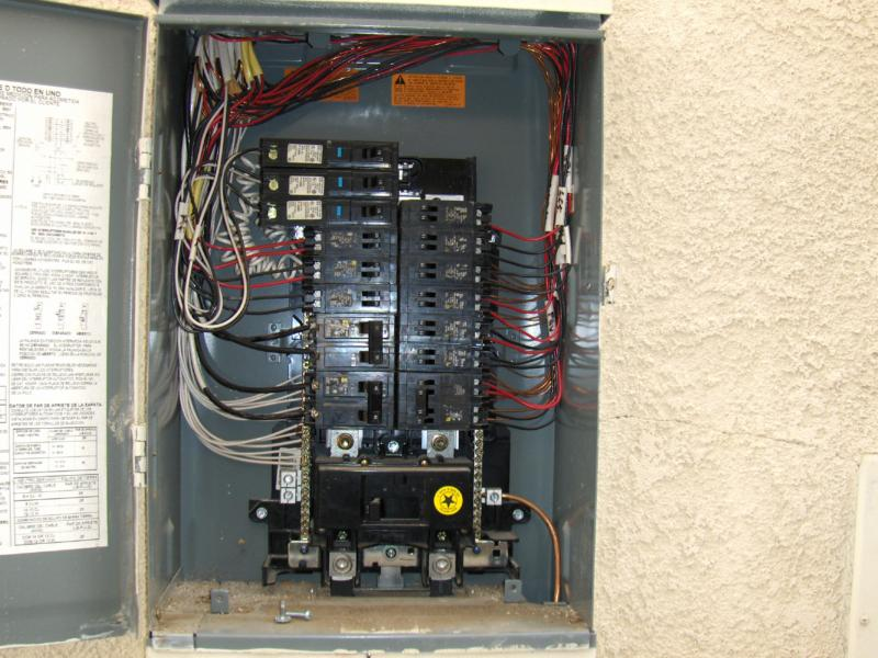Proper wire sizes in electrical panels for How to size an electrical panel