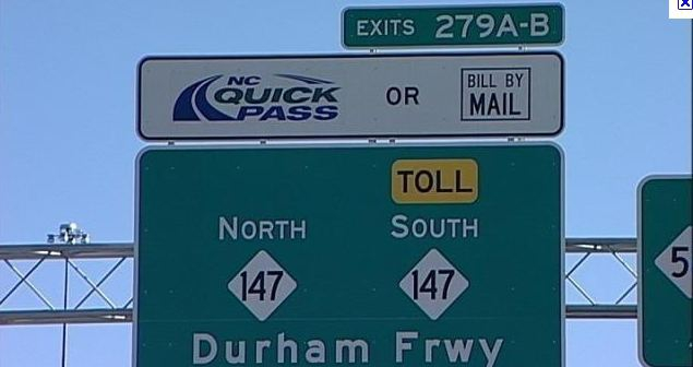 NC Opens its First Toll Road