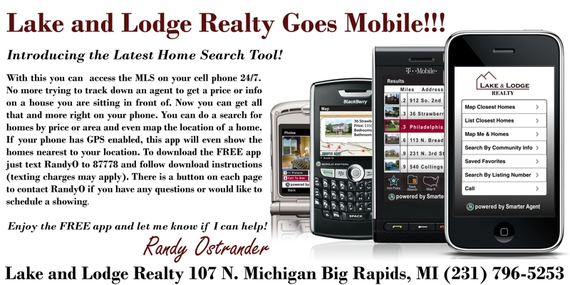 Lake and Lodge Realty Mobile App