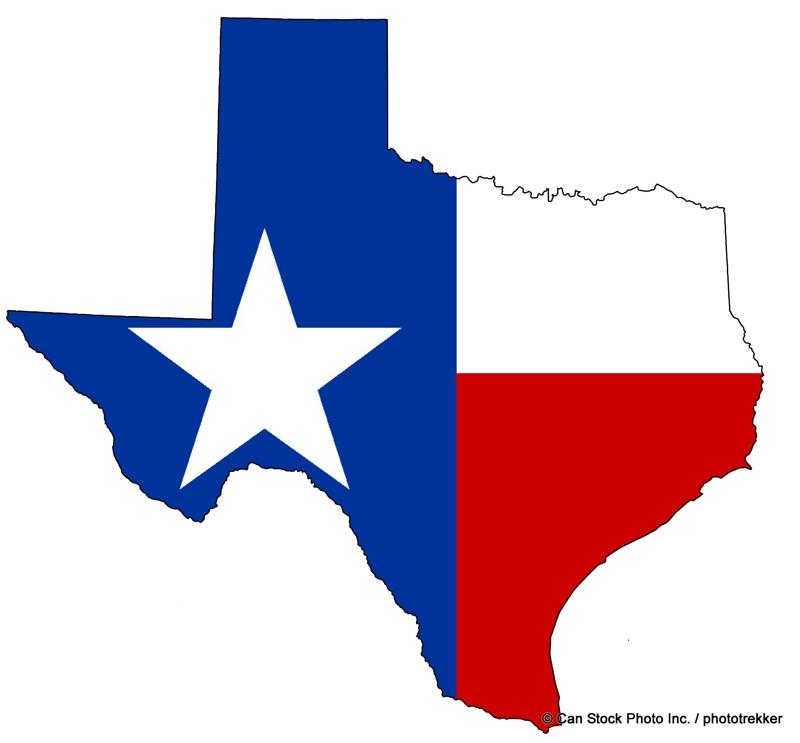 Texas Flag State Image