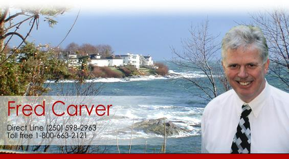 Fred Carver Top Realtor Victoria BC