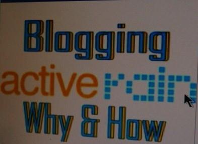 Blogging ActiveRain
