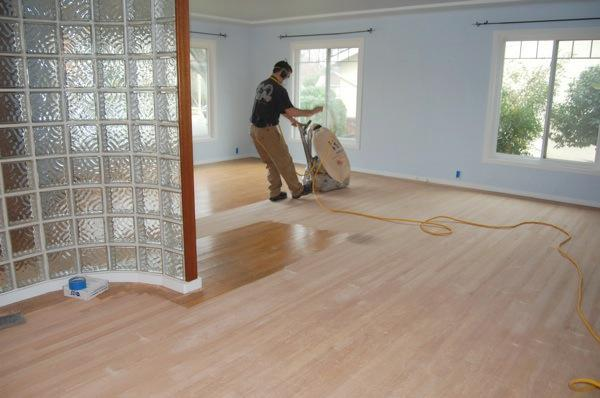 Refinishing Hardwood Floors In Land Park Is Not A Two Day Job