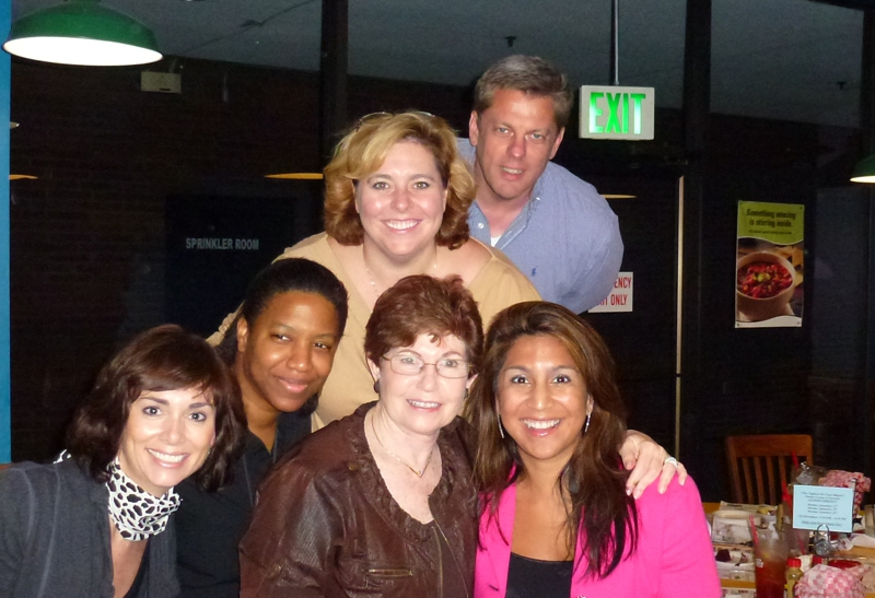 Hillary, C Tann, M Rome, Rosa,Bridget, Chip