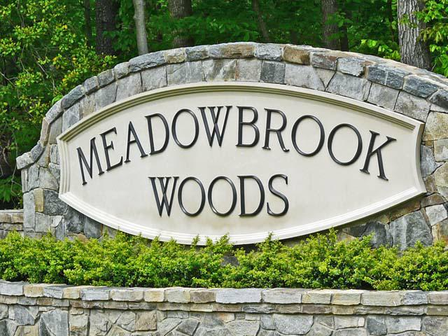 Meadowbrook Woods, Manassas VA Entry