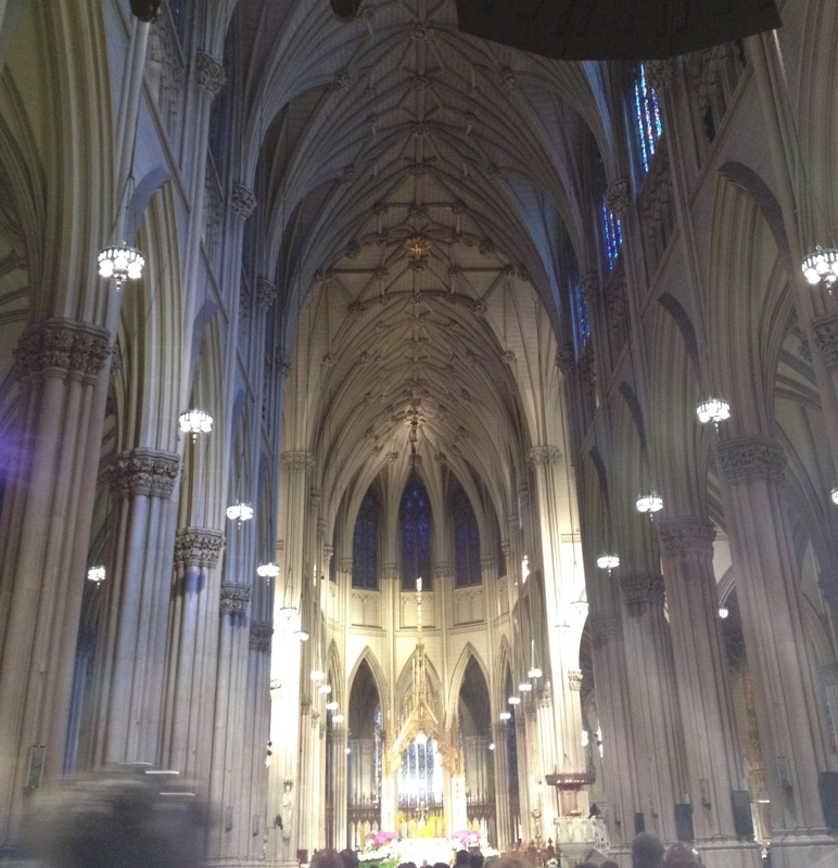 St Patricks Cathedral Easter Sunday