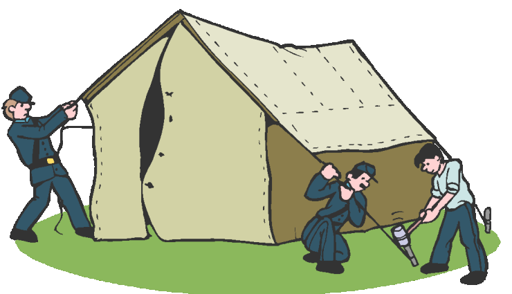 Civil-War Tent