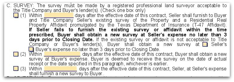 What is this Property Affidavit that the buyer is requesting?