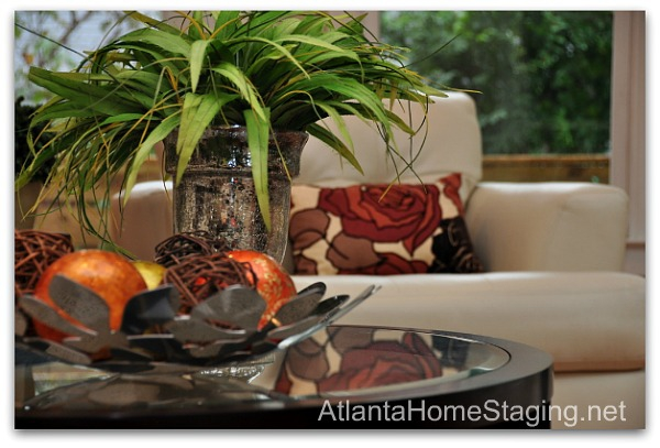 Atlanta home stager close-up picture