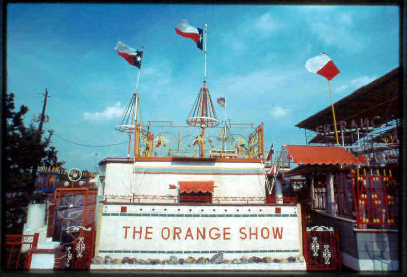 Orange Show Center for Visionary Art - Houston, Texas