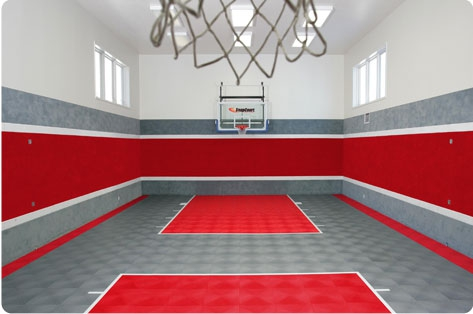 Five luxurious celebrity houses currently on the market for Indoor basketball court for sale