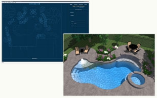 3d swimming pool design los angeles and ventura counties for Pool design ventura