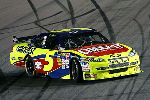 Mark Martin wins NASCAR's race at Darlington on Saturday, May 10, 2009.  Photo courtesy of FoxSports.com.