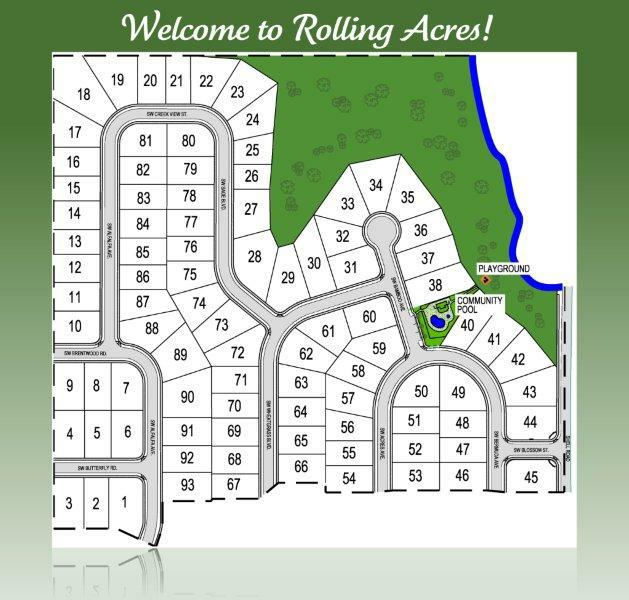 Welcome HOME to Rolling Acres in Bentonville, AR