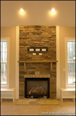 ... Raleigh Custom Home Builders - Woodburning fireplaces and gas fireplaces,  which is better? Build