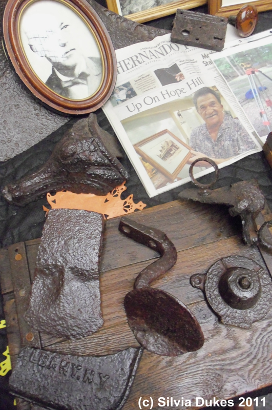 Hope Hill Artifacts Hernando County by Silvia Dukes