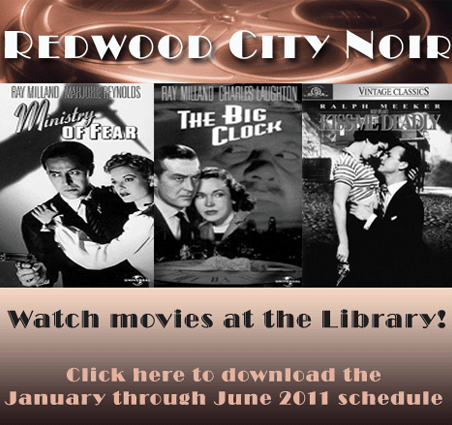Redwood City Library Movies Night
