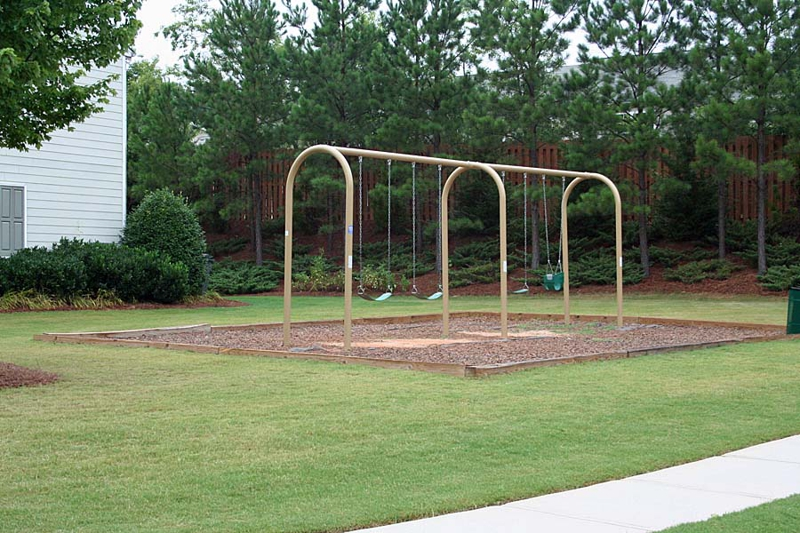 Swing set at Park at Windward