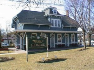 Hillsdale Train Station