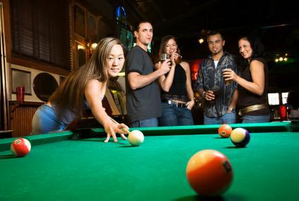 Solon Freeway Lanes bowling pool bar