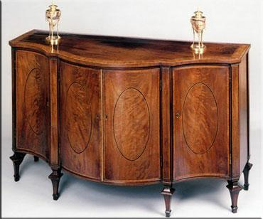 hepplewhie side cabinet