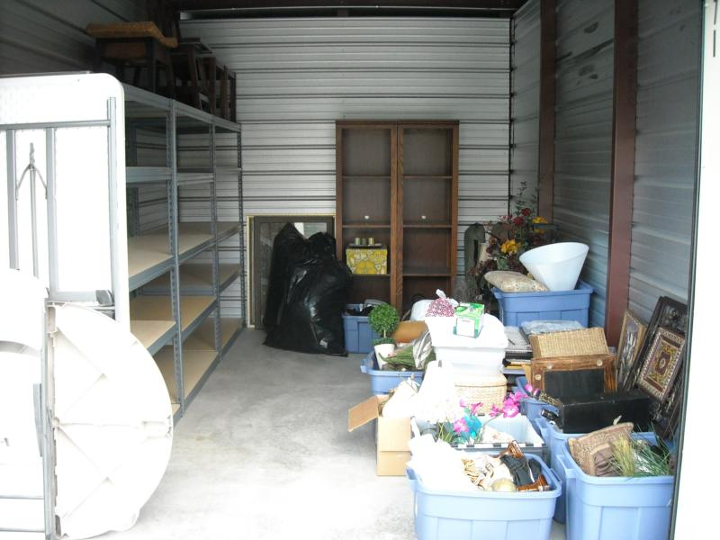 middle of storage unit