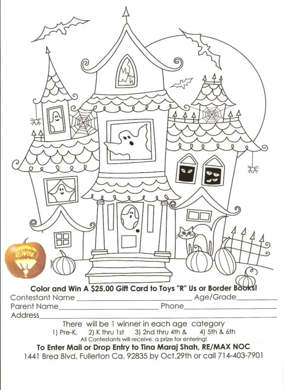 Printable Halloween Coloring Pages | Goblin Picture 1 Color Sheet
