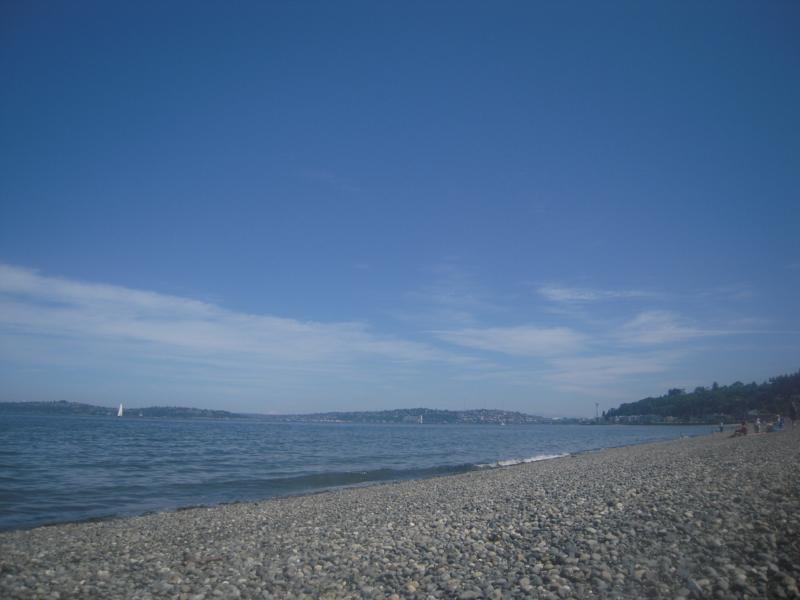 Seattle Is Prettiest From A Beach