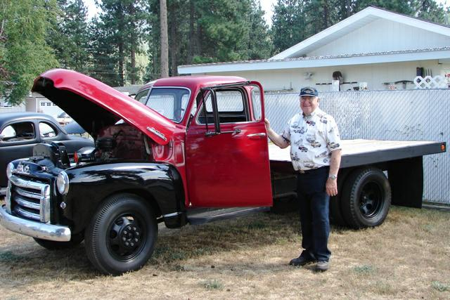 "Adrian ""Brownie"" Brown and his Classic Truck"