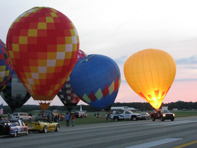 Balloon Festival Battle Creek, Michigan