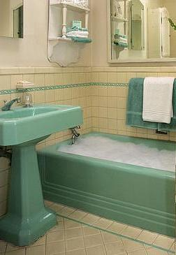 What Was It Like Bathe In A 1950 S Bathroom Home Design