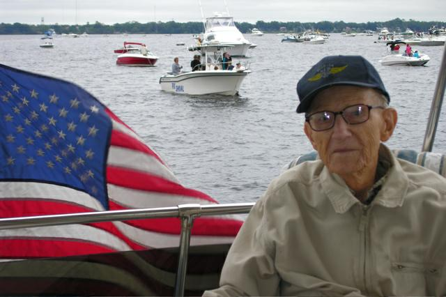 Frank Alters, Jr. a WWII Naval Corpsman