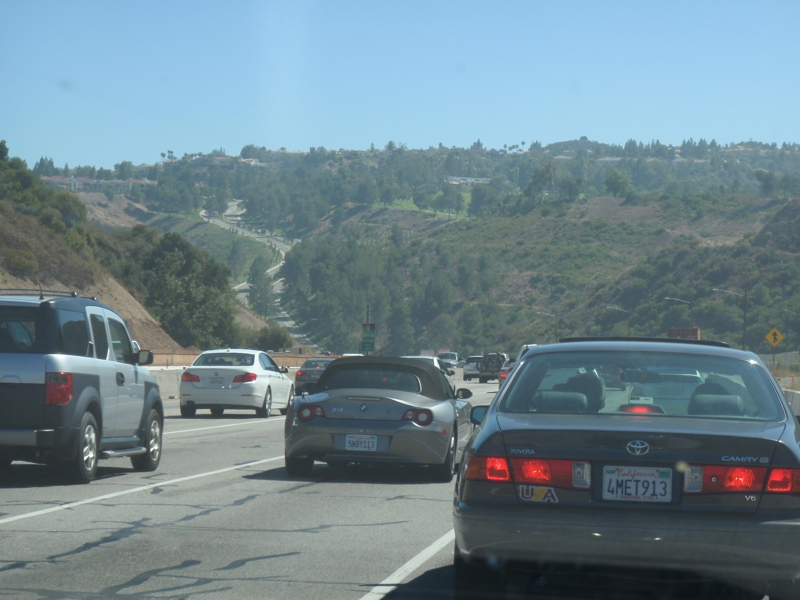 405 Freeway Normal Traffic