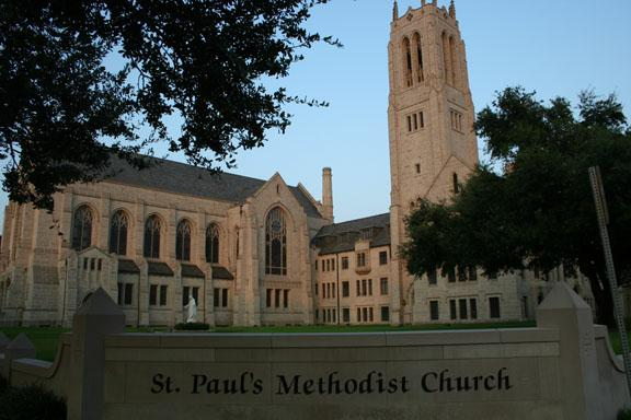 St paul methodist church houston wedding crystal St paul s united methodist  church