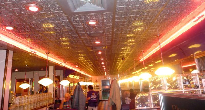 Plum Crazy Diner interior HomeRome.com