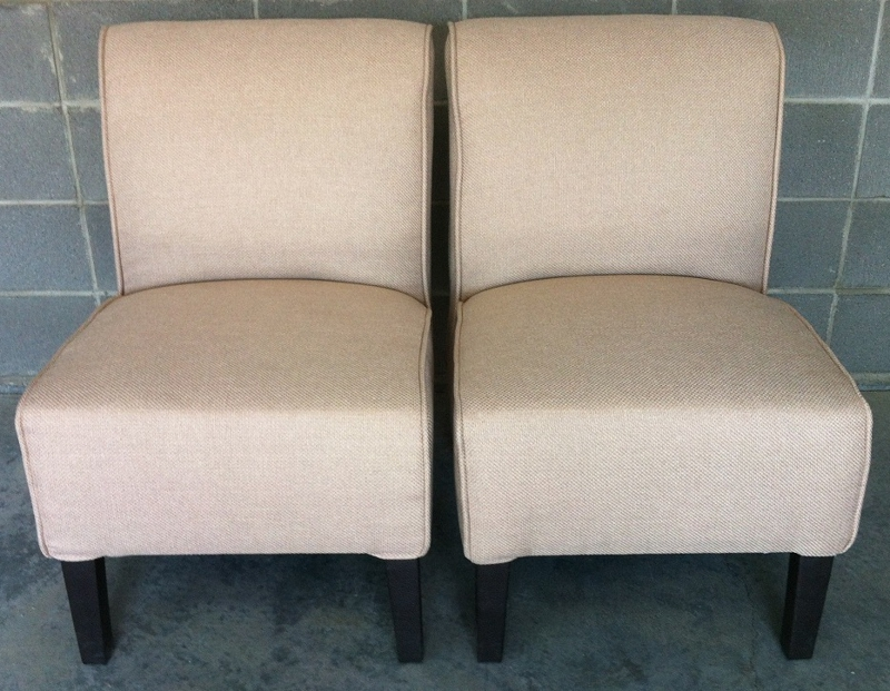 beige chairs