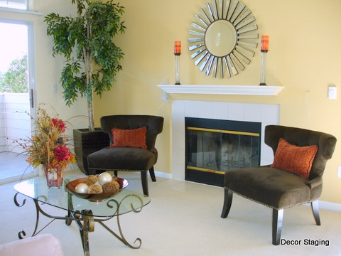 Home Staging After Color